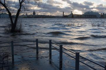 flooding in st.-petersburg