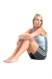 jeanne marie in gym outfit poster