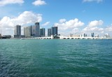miami panoramic water view poster