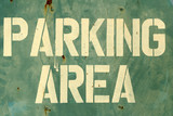 parking area poster