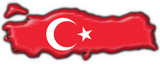 bottone cartina turca - turkey button map flag