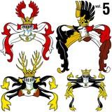 heraldic helmets vol.5 poster