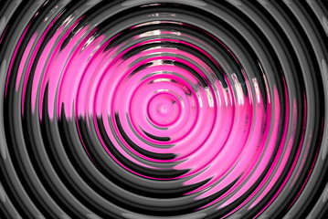 abstract hypnotic pink background