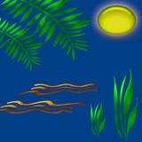 tropic moon shine poster