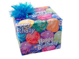 square package with bow poster