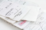 cash register receipt poster