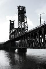 steel bridge b/w