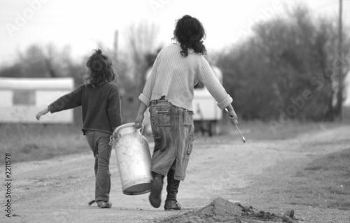 approvisionnement en eau des roulottes