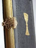 die bibel und gesangsbücher poster