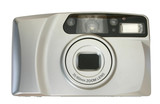 compact camera -front view poster