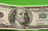one hundred dollar note poster