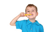 child with tooth brush - 2215785