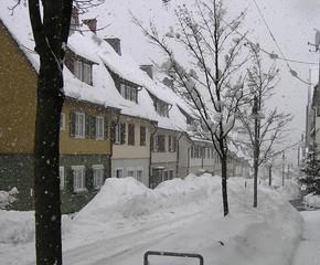 schnee in freudenstadt