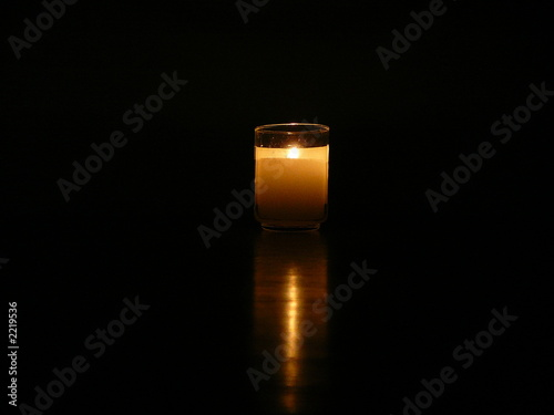 traditional memorial candle - 2219536