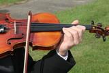 violin string instrument hand play music sound poster