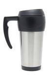 stainless steel travel mug poster