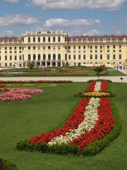 schönbrunn, the garden and the palace