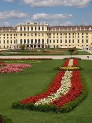 schönbrunn, the garden and the palace