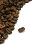 Fototapety curved coffee beans