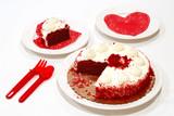 valentine birthday cake poster