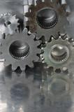 machinery conceptual idea poster