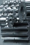 gears mechanical idea poster