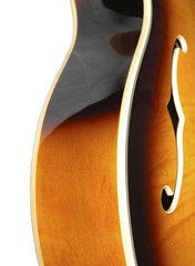 archtop side view