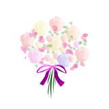 pastel bouquet poster