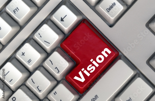 keyboard with -vision- button