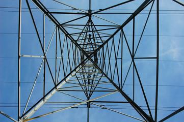 electricity pylon steelwork