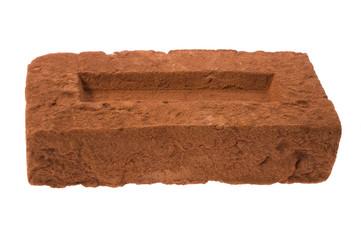 brick on a white background