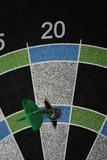 magnetic dart board poster