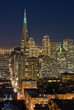 san francisco financial district at night (with ch