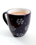 snowflake mug poster