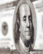 billet de cent dollars en macro