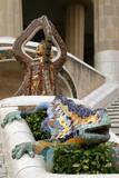 mosaic lizard poster