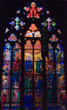 stained window poster