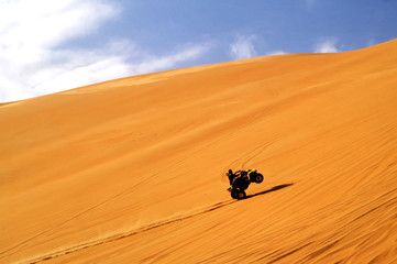 quad sur la dune 2