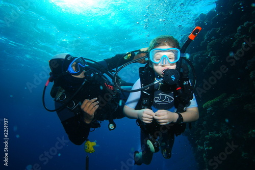 young diver