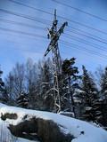 hight-voltage line poster