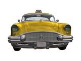 Fototapety taxi jaune
