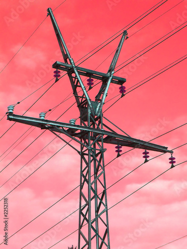 poster of high-voltage line
