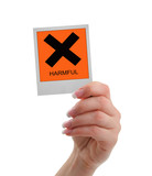 harmful warning poster