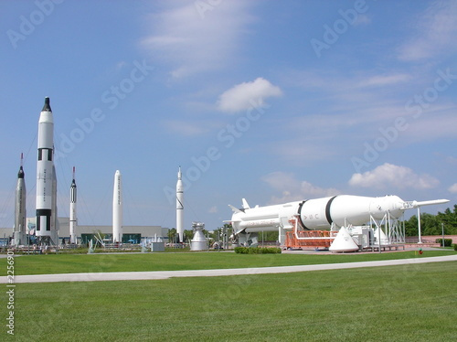 rocket garden at nasa - 2256901