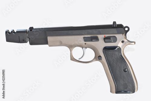 pistolet automatique Poster