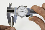 caliper and pin