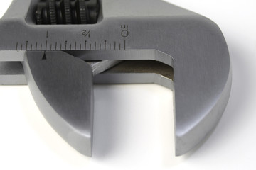 adjustable wrench head