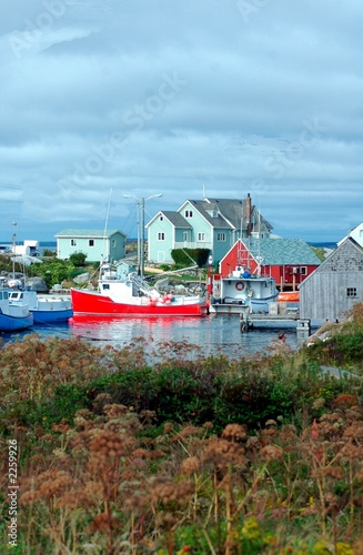 another view of peggys cove