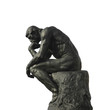 Leinwanddruck Bild - the thinker
