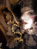 venetian masks of beautiful girls